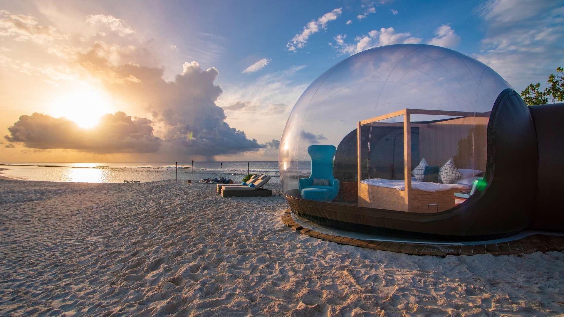 Finolhu Beach Bubble