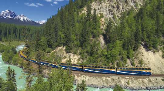 First Passage to the West rail journey with Rocky Mountaineer