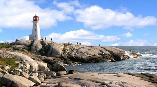 Peggy's Cove (from Halifax, Nova Scotia)