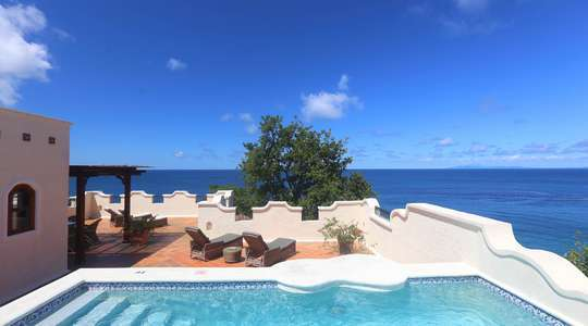 Exclusive Kuoni One Bedroom Ocean View Villa Suite with Pool and Roof Terrace