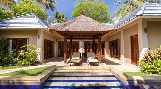 One, Two or Three Bedroom Garden Pool Villa