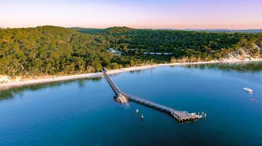 Kingfisher Bay Resort, Fraser Island