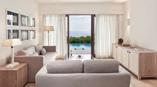 Mediterranean Suite Seaview with Private Pool