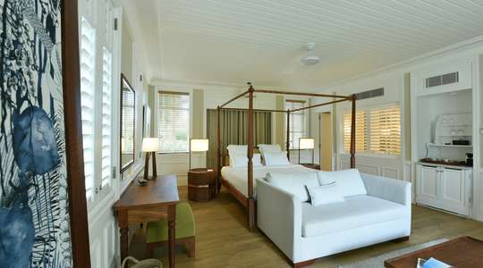 Gardenview, Seaview or Beachfront Suite