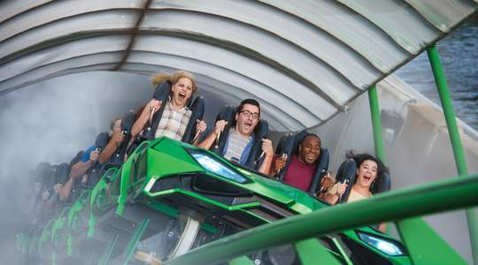 The Incredible Hulk Coaster® at Universal's Islands of Adventure™