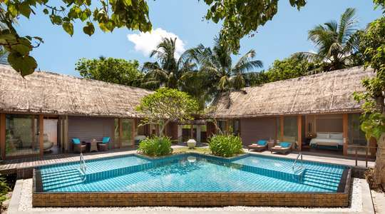Two Bedroom Twin Beach Villa with Private Pool