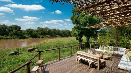 Narina Lodge at Lion Sands Game Reserve