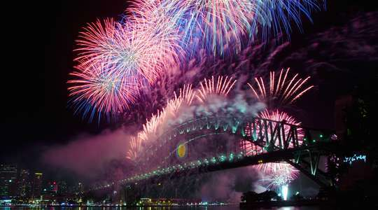 New Year's Eve in Sydney Voyage