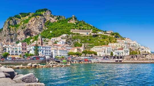 Sailing the Amalfi Coast