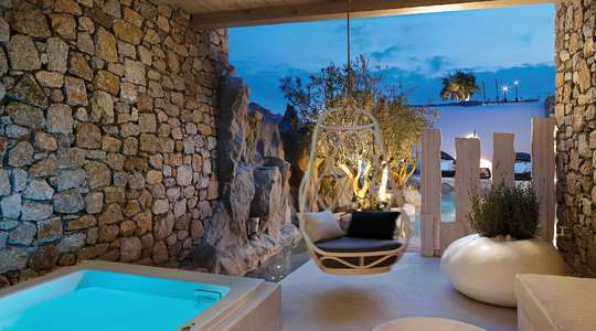 Junior Suite with Outdoor Hot Tub