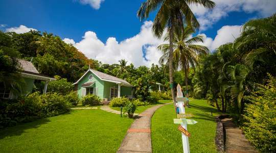 Two Bedroom Deluxe Garden Cottage