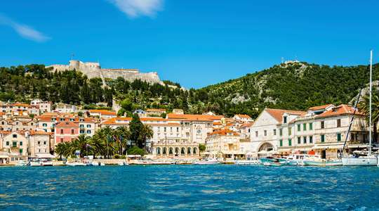 Sailing Croatia's islands from Split