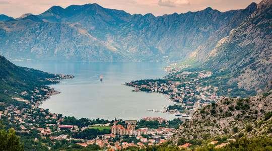 Sailing Montenegro's coast