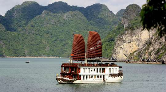 Violet Overnight Halong Bay Cruise