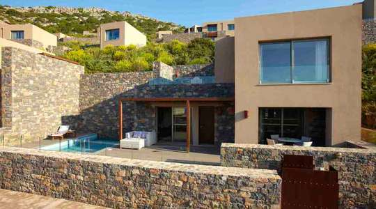 Two Bedroom Family Villa Sea View with Private Pool