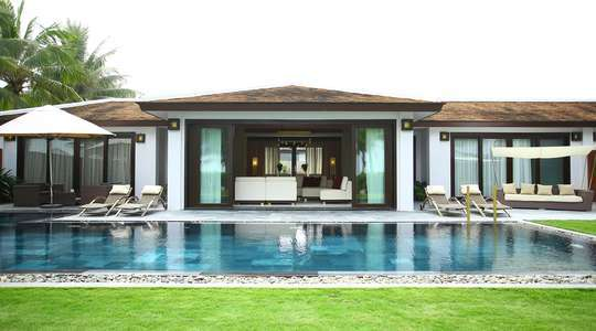 Three Bedroom Grand Beach Villa