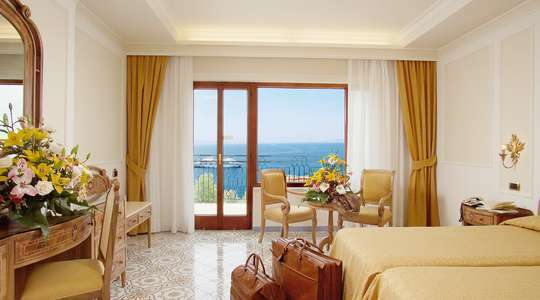 Double Balcony Sea View Room