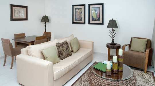 Standard One Bedroom living area
