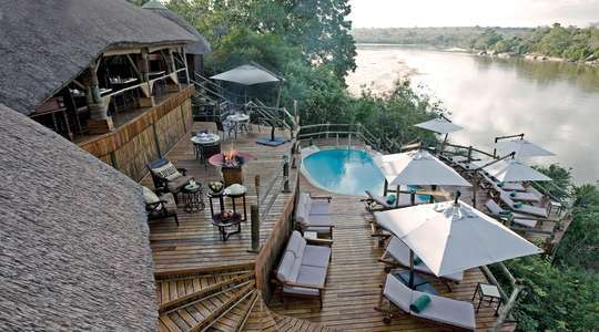 Serena Mivumo River Lodge, Selous Game Reserve
