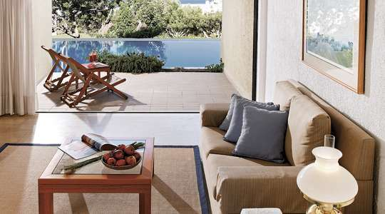 Porto Seaview Suite with Shared Pool