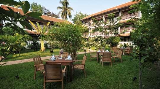 Garden at the Ansara Hotel