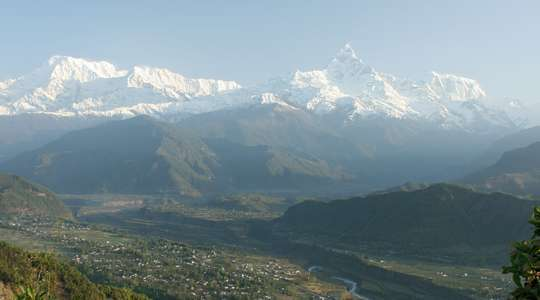 Sagarkot in the Annapurnas