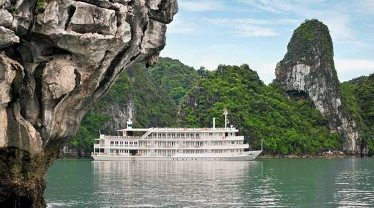 Au Co Two Night Halong Bay Cruise