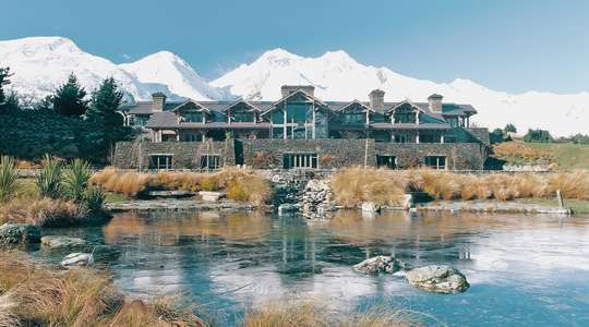 Blanket Bay Lodge, near Queenstown