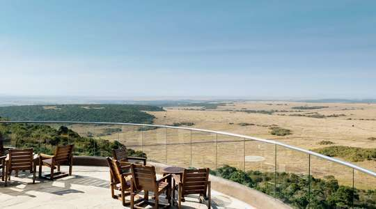 View from Mara Serena Safari Lodge