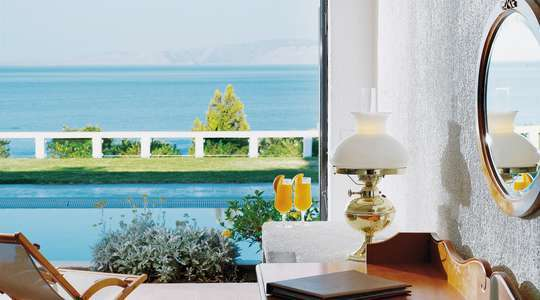 Porto Seaview Room with Shared Pool