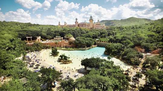 Sun City's Valley of the Waves waterpark