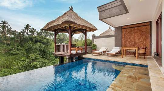 Deluxe Terrace Villa with Pool