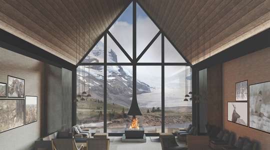 Glacier View Lodge, Icefields Parkway