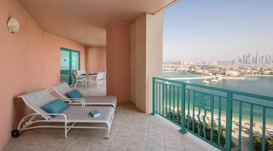 One Bedroom Terrace Club Suite