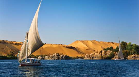 The Original Nile cruise - Aswan to Cairo