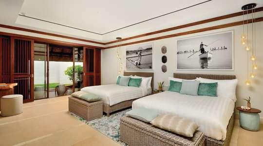 Shangri-La Three-Bedroom Beach Villa