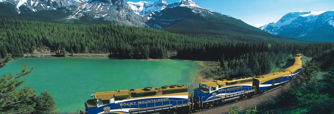 Rainforest to Gold Rush rail journey with Rocky Mountaineer