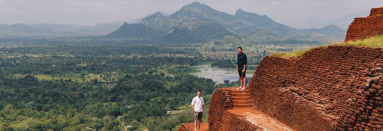 Paul & Rob Forkan on Sigiriya Rock