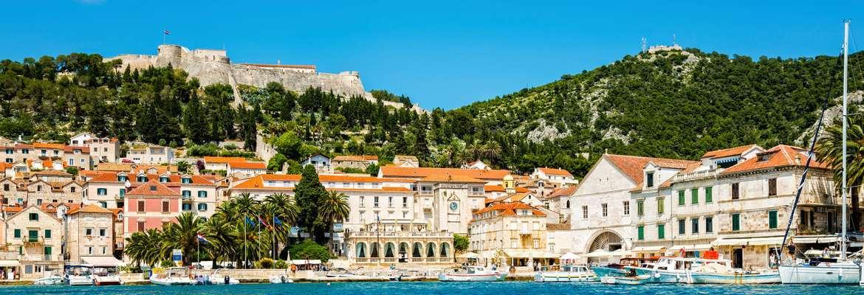 Sailing Croatia's islands from Split