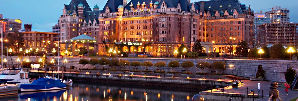 The Fairmont Empress Hotel, Victoria