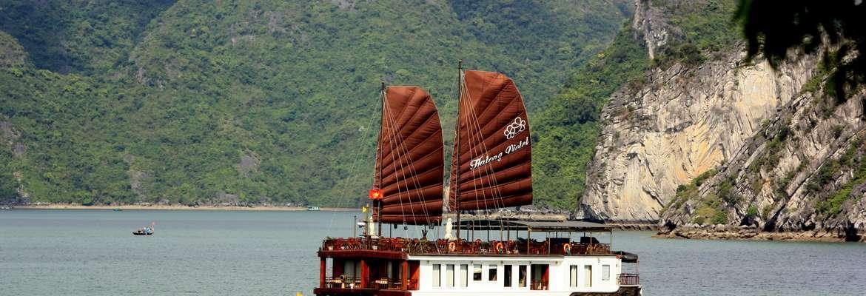 Violet Overnight Halong Bay Cruise