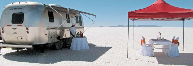Salar D'Uyuni Airstream Camper Experience