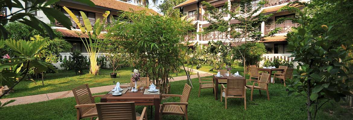 Garden at the Ansara Hotel